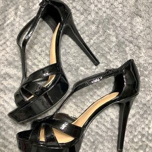 Gianni Bini Heleena Black High Heels Size 10